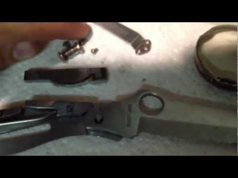 Fixing a spyderco mariner