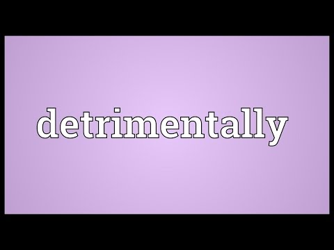 Header of detrimentally