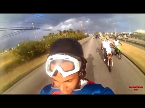 Motocross 246 Valentine's Day Ride Out With Superman In Barbados