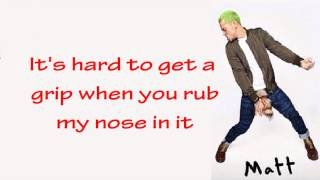 McBusted- I See Red (with Lyrics)