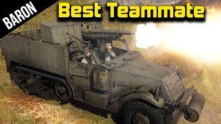 War Thunder - Best Teammate 2015, 75mm M3 GMC - War Thunder 1.49