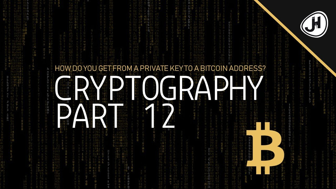 How do you get from a private key to a Bitcoin address