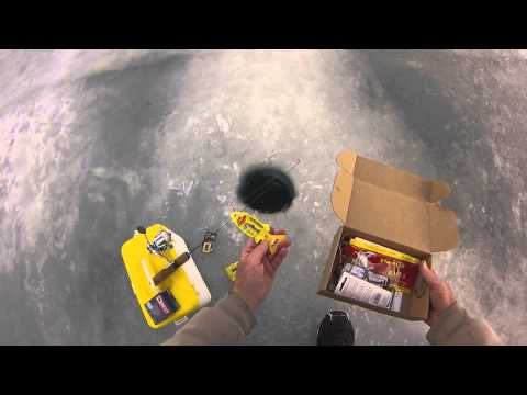 Best ever mystery tackle box on ice fishing lures tips and for Ice fishing tackle box