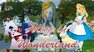 The Sims 4 | Disney Challenge: Alice in Wonderland Speedbuild