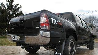 2011 Toyota Tacoma D-Cab TXPRO 4X4 6-Speed Manual Transmission - Back to the Future