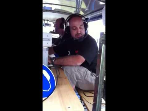 HB9DUR au Chasseron IARU VHF 2011