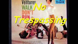 "THE VENTURES-"" Walk Don"