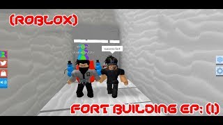 Biggest Snow fort ever on youtube and roblox! (Roblox-Snow shovelling simulator)