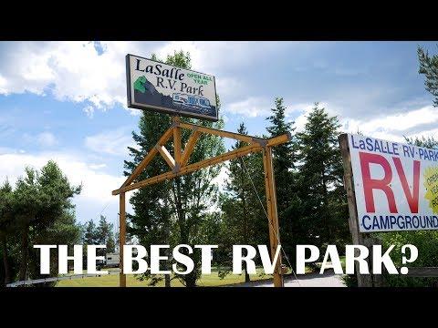 La Salle RV Park REVIEW! | Glacier National Park Campground Review
