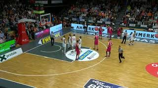Game Edit - Rasta Vechta vs. Telekom Baskets Bonn - Philipp Herkenhoff #14 white - 2018/19