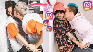 Instagram Pärchen Fotos nachstellen mit Toni Pirosa