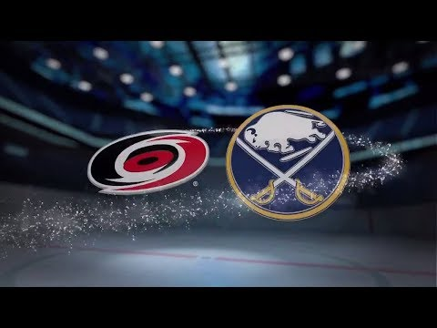 Carolina Hurricanes vs Buffalo Sabres - Nov. 18, 2017 | Game Highlights | NHL 2017/18. Обзор матча