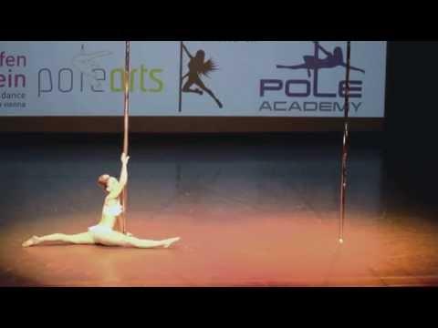 2nd Winner Of Miss Poledance Austria Professional 2014 Anna Stadler
