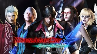 Devil May Cry 4 Remastered All Cutscenes (Game Movie) Full Story 1080p 60FPS w/ All DLC in Order