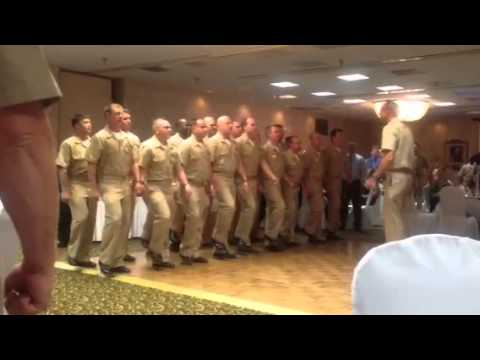 Anchors Aweigh and Marine Corps Hymn
