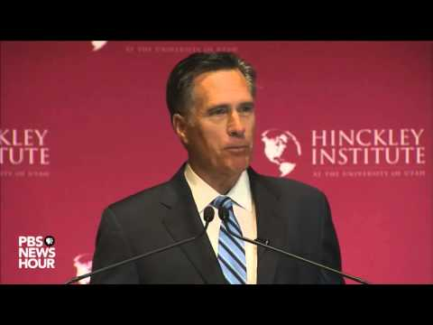 Watch Mitt Romney's full speech: 'Trump is a phony, a fraud'