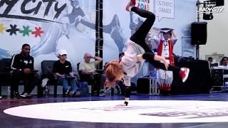 Bgirl Top16 Group B Battle 5/6:Ivy(HK)vs Nao(JP)|2017 Taipei Bboy City 青年奧運街舞亞洲賽