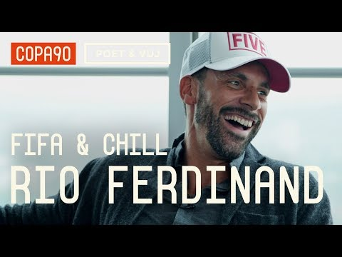 FIFA and Chill with Rio Ferdinand  Poet and Vuj Present
