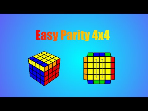 Repeat Easiest Way to Memorize 4x4 Edge Parity (Tutorial) by