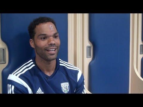 Joleon Lescott's exclusive first West Bromwich Albion interview