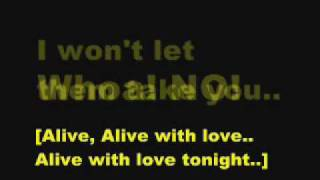 Alive With The Glory Of Love - Say Anything [with lyrics]