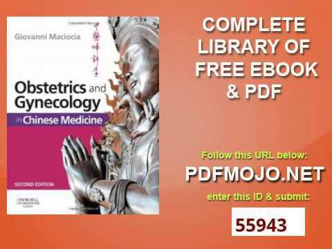 Obstetrics And Gynecology In Chinese Medicine 2e Youtube