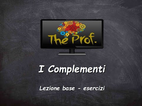 Analisi logica: attributo, apposizione e complementi di luogo. from YouTube · Duration:  10 minutes 46 seconds