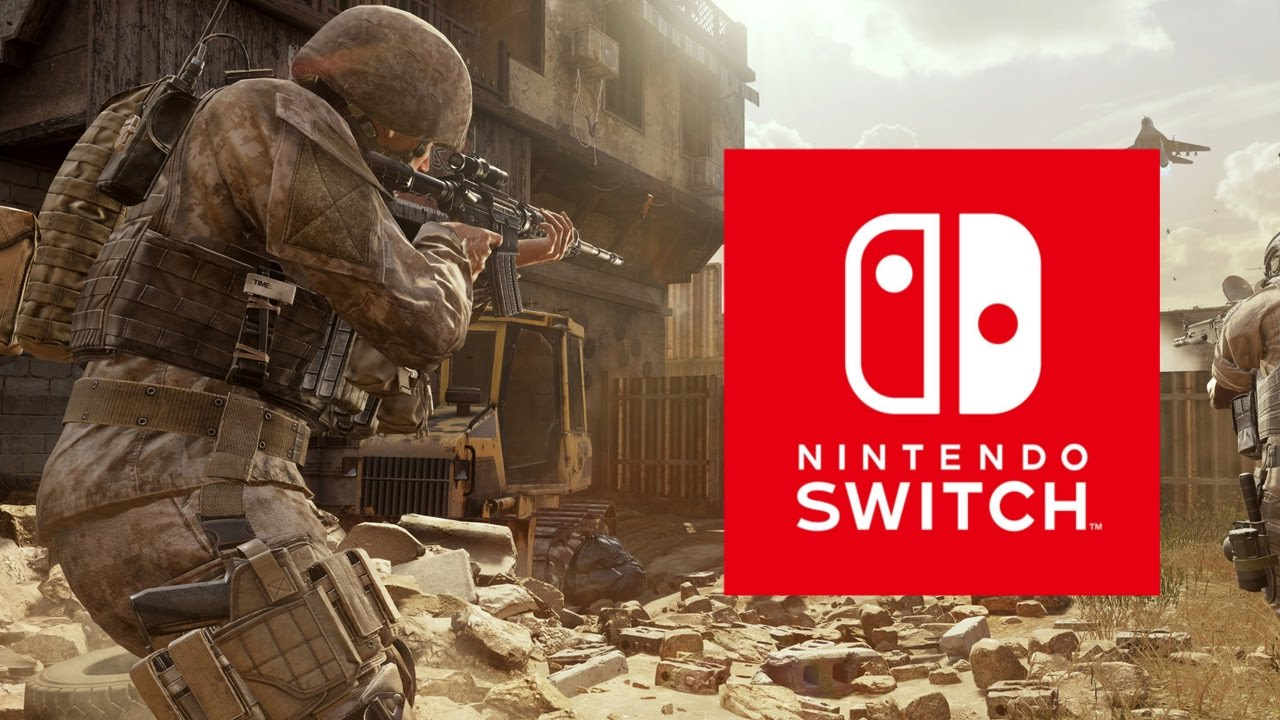 Call Of Duty Modern Warfare Remastered Nintendo Switch