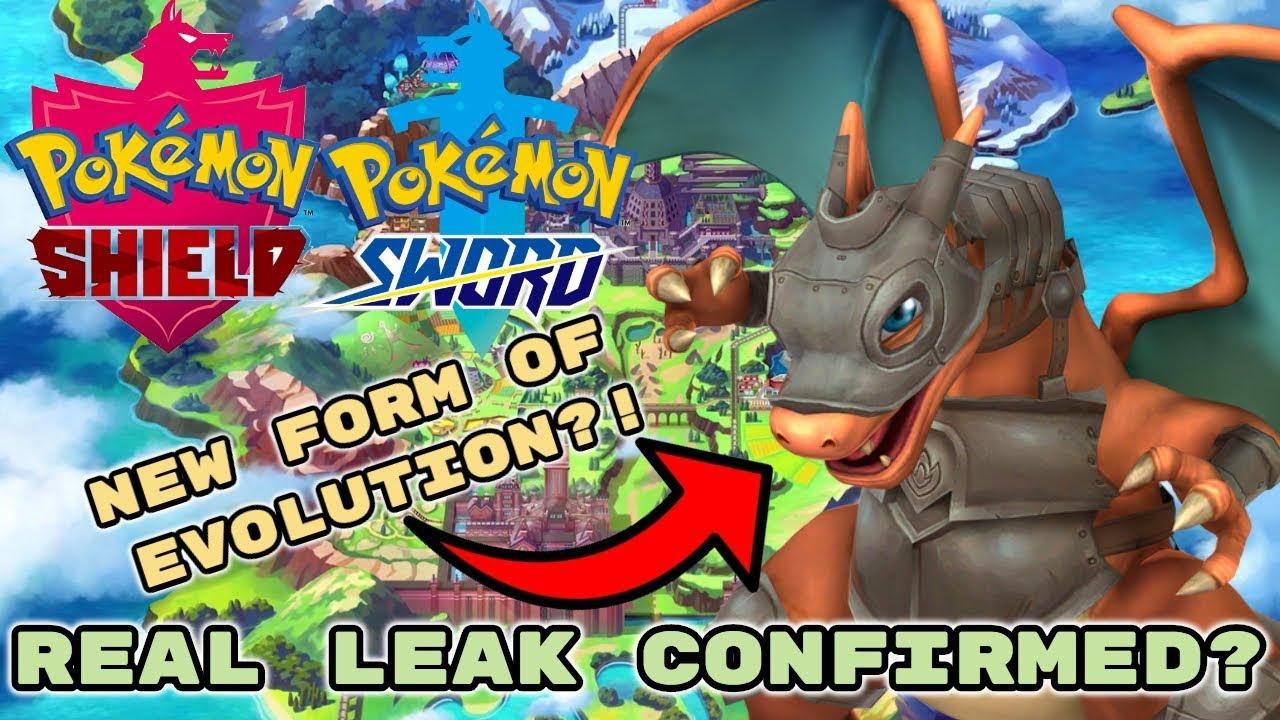 Pokemon Sword And Shield Leaks Evolution