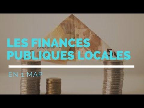 Les FINANCES PUBLIQUES LOCALES en 1 map !