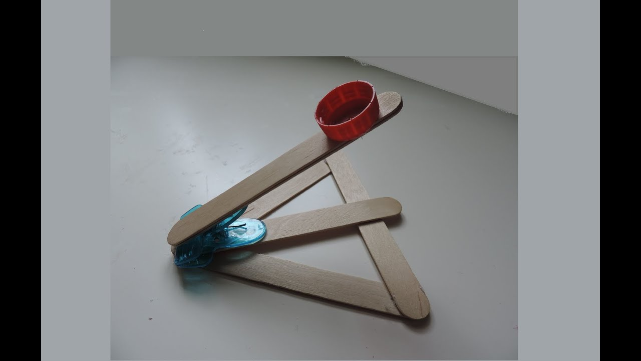 How To Make A Popsicle Stick Catapult Full Hd Youtube