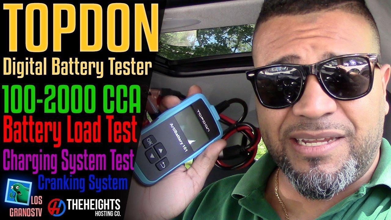 Topdon AB101 Digital Battery Test Tool 🚘 : LGTV Review