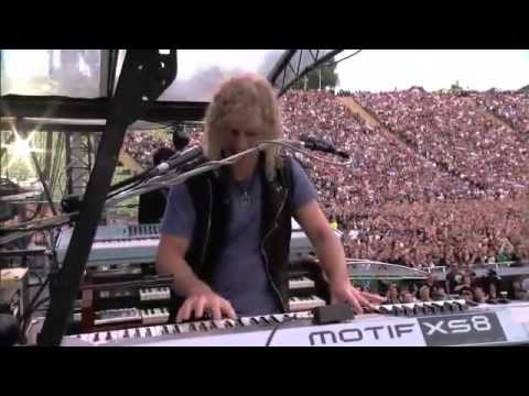 Bon Jovi Olympic Stadium, Munich, Germany 12 06 2011