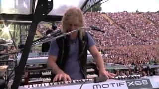 Bon Jovi Olympic Stadium, Munich, Germany 12 06 2011
