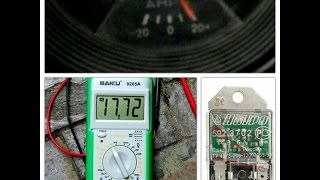 Перезарядка авто/Проверка реле-регулятора напряжения(жигули, москвич)