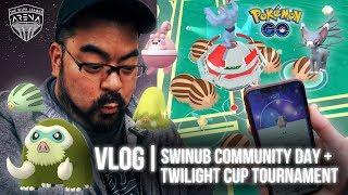 Pokémon GO Vlog 126: Swinub Community Day! & Twilight Cup Tournament!