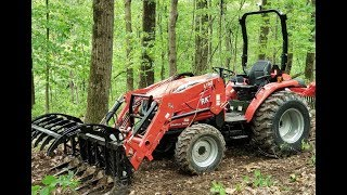 # 163 Tractor, Grapple, Woods, Perfect Combination!