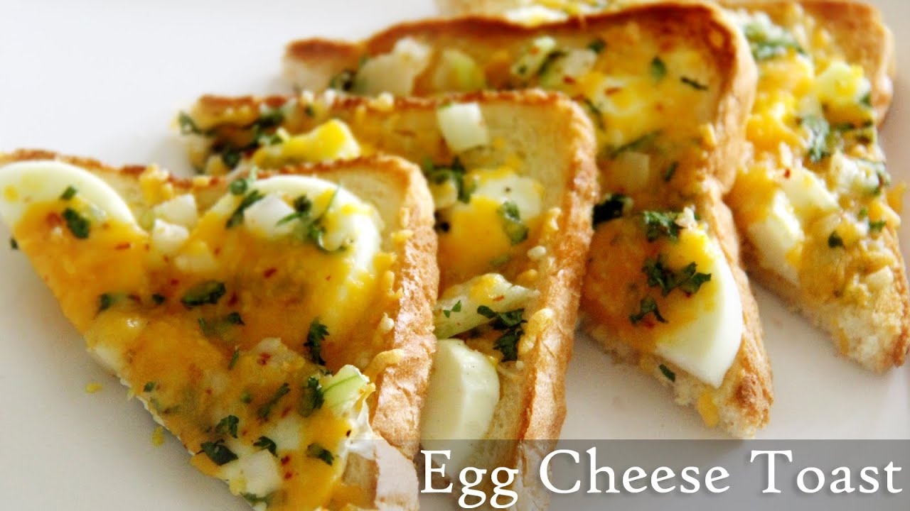 Egg Cheese Toast Recipe Quick Toast Recipes Indian Easy Egg
