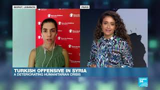 Turkish offensive in Syria: How are children impacted by the conflict?