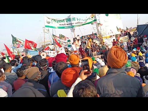 Kisano ne Ghazipur border pe Kya Kya arrangement kiya hua hain..dekhiye es video ko...kisan andolan.