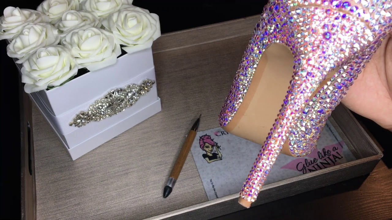 d3d0e8582575 How to Bedazzle   3 Ways to place Crystals. - YouTube