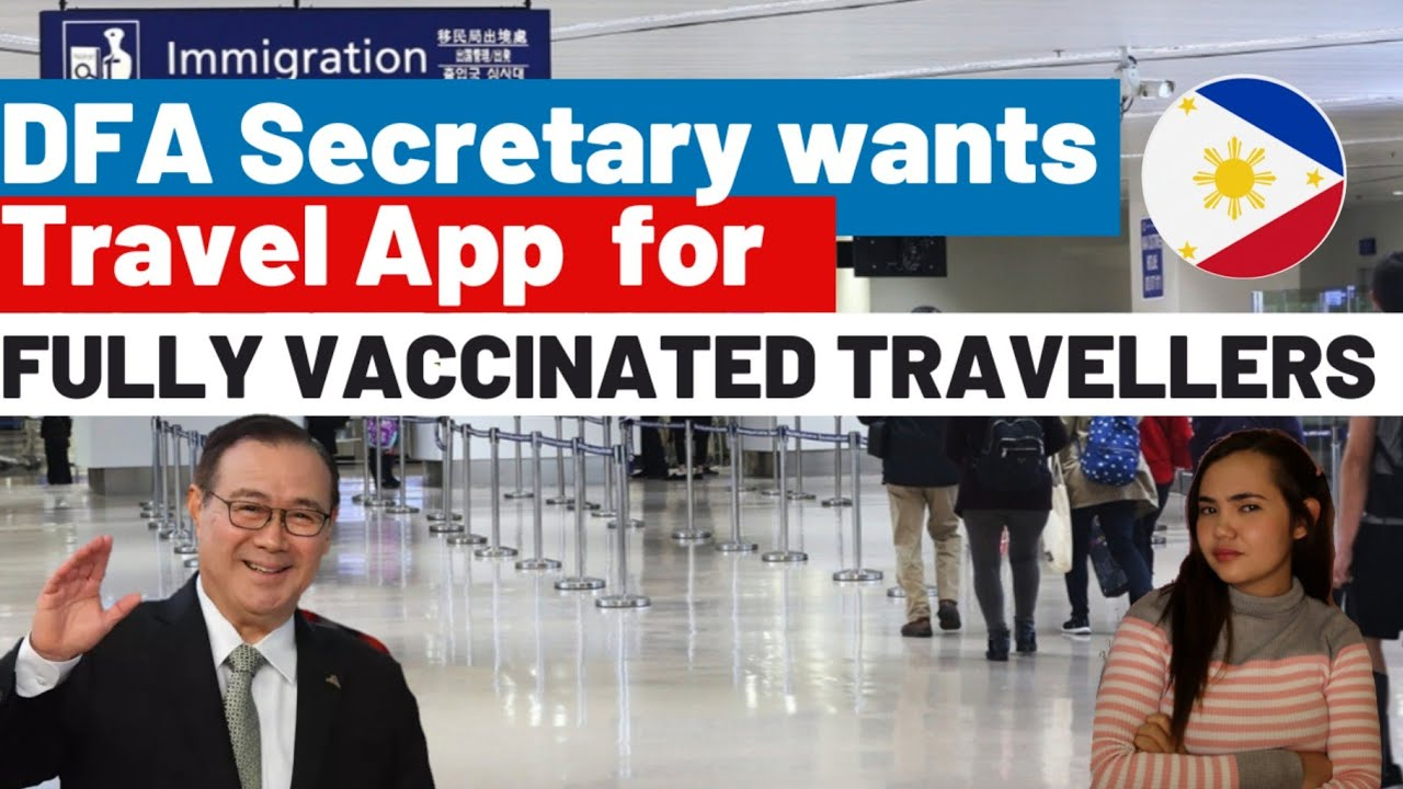 DFA WANTS TO MAKE OWN TRAVEL APP for Fully Vaccinated Travellers| Senator Suggests New Protocol|Cebu