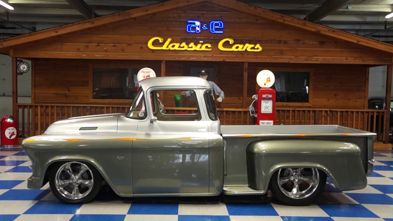 1957 chevrolet custom pickup aka amen a e classic cars  [ 1280 x 720 Pixel ]