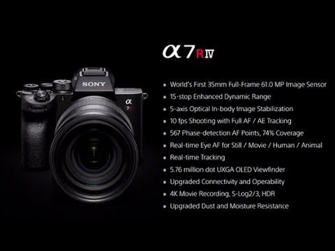 Sony a7r1V announcement special behind the photo show