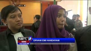 Majelis Hakim Tolak Eksepsi Ervani Emi Handayani -NET12