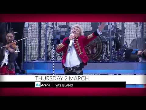 "Rod Stewart's ""The Hit 2017"" Tour in Abu Dhabi"