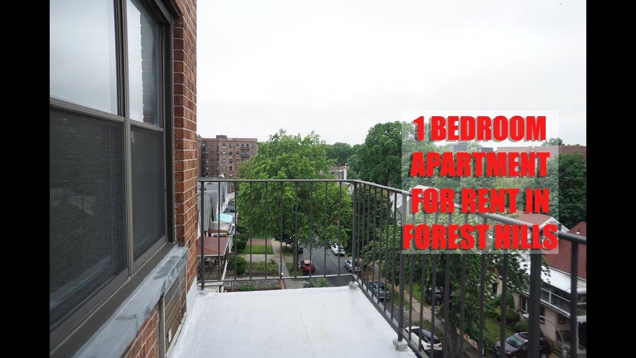 All New 1 Bedroom Apartment With Balcony For Rent In Fores Hills Queens Nyc Youtube