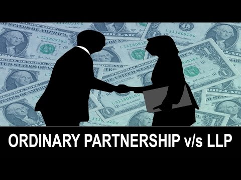 What is the difference between an Ordinary Partnership and a Limited Liability Partnership (LLP)?