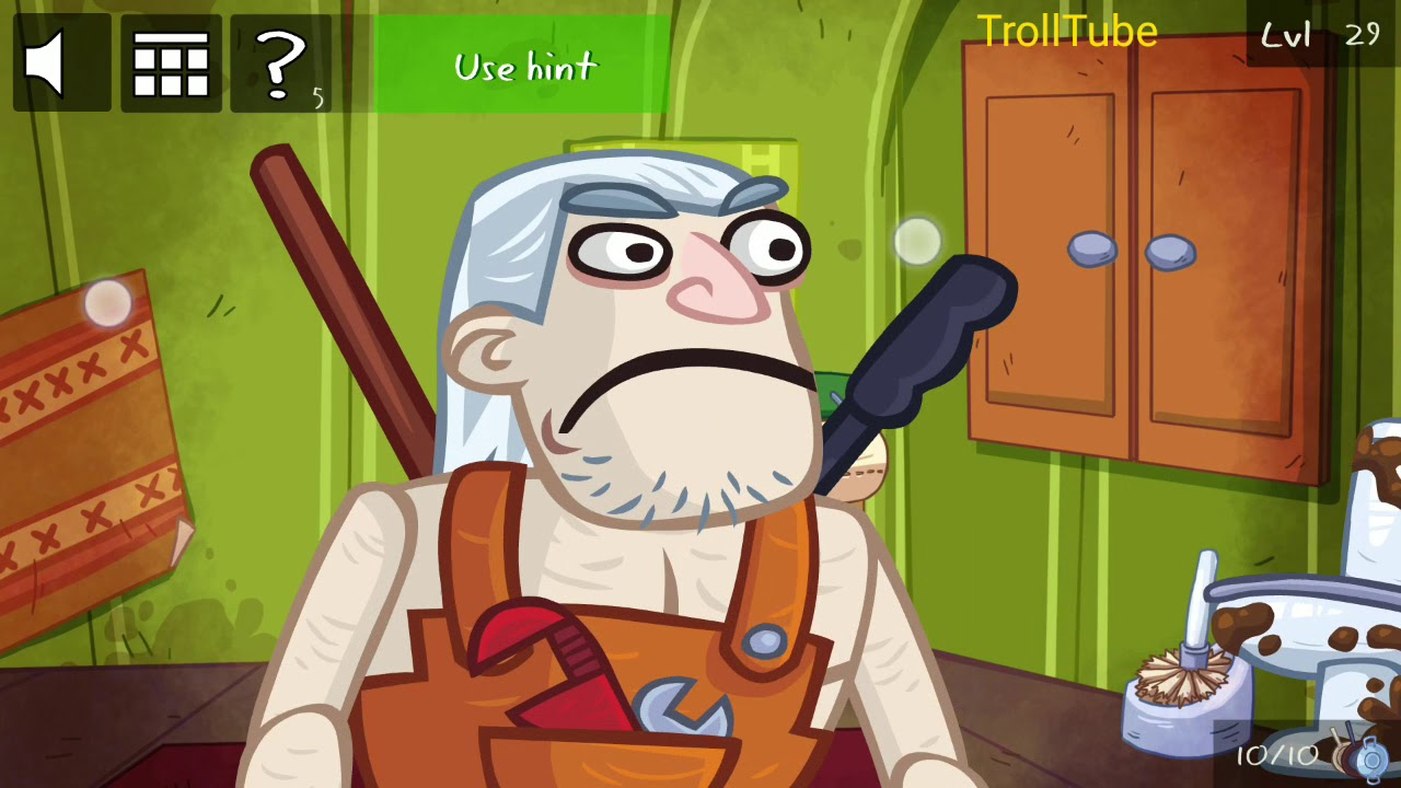 Troll Face Quest Video Games 2 Level 26 27 28 29 30 Solutions