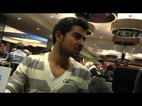 Betfair Poker LIve London - Winner Interview